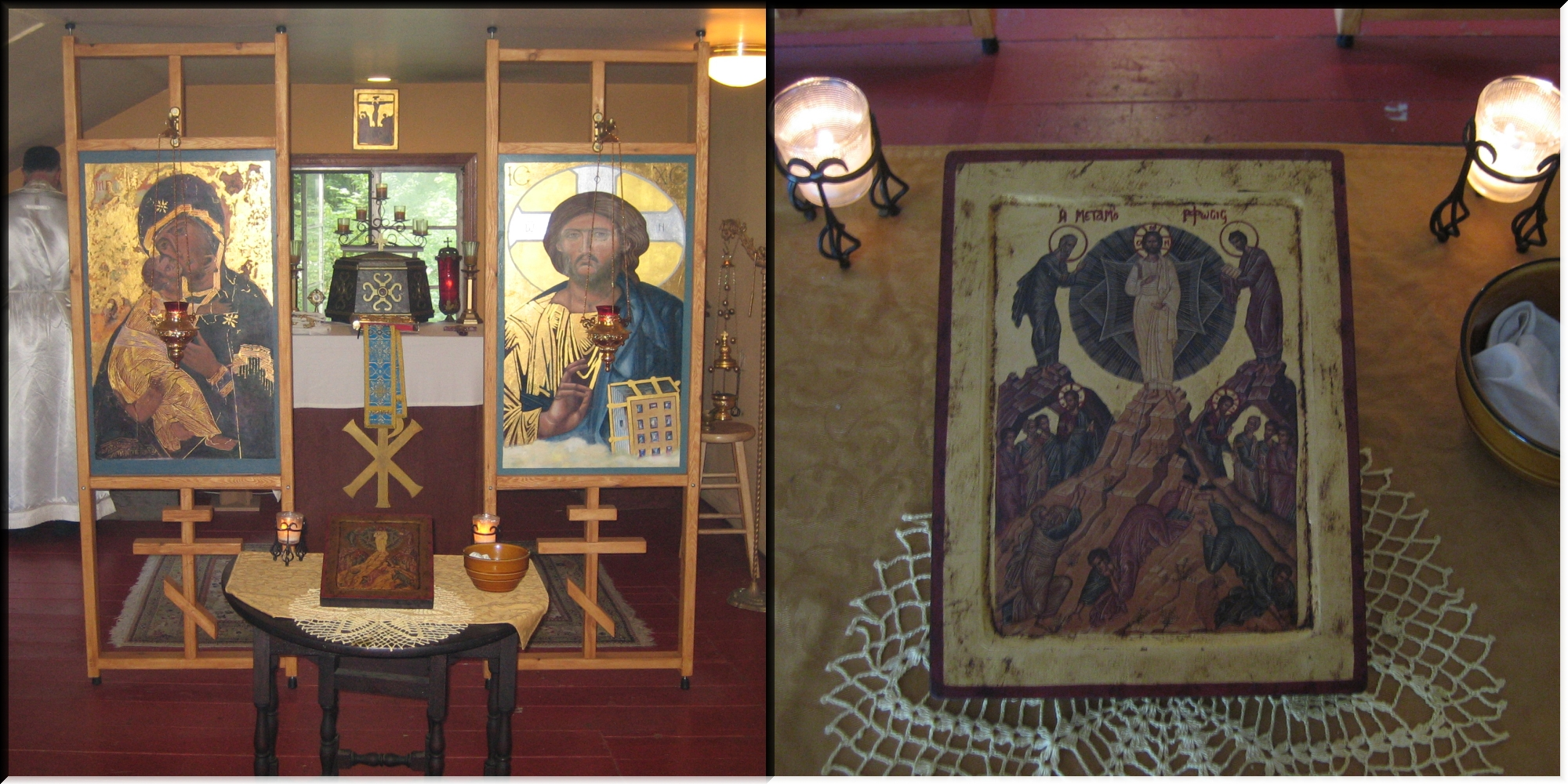 Chapel and Festal Icon