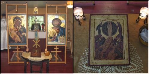 Chapel and Festal Icon